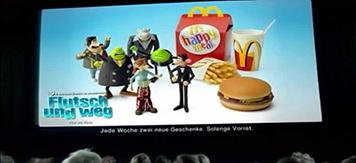 McDonald's Flutsch und weg