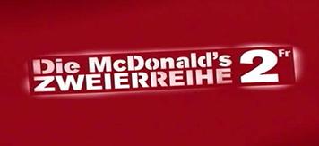 McDonald's Zweierreihe